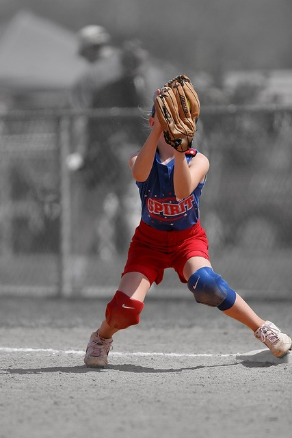 Softball player female, sports.