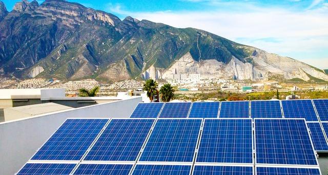 Solar energy photovoltaic.
