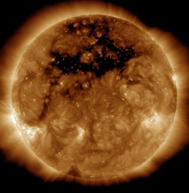 Solar flare sun eruption, science technology.