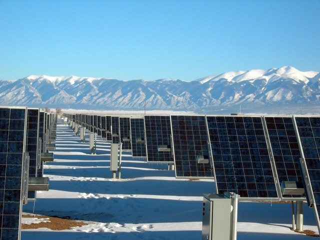 Solar panel array power plant electricity, science technology.