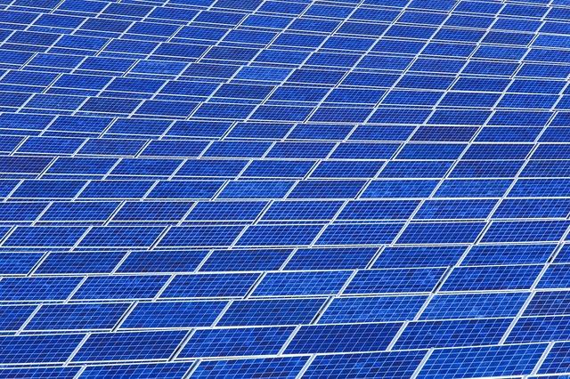 Solar panel array power sun, science technology.