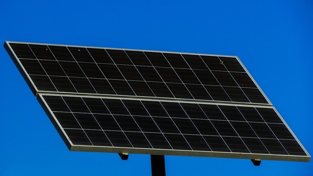 Solar panel electricity energy, science technology.