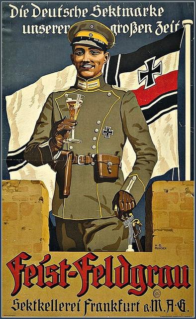 Soldier world war i poster art.