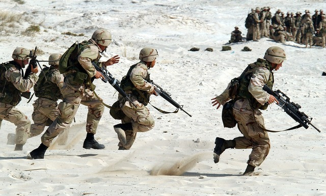 Soldiers military usa.