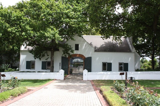 South africa estate of la motte winery, architecture buildings.