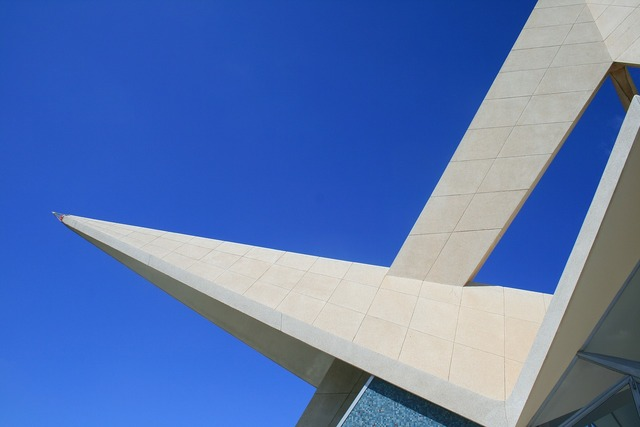 South african air force memorial monument star design, architecture buildings.