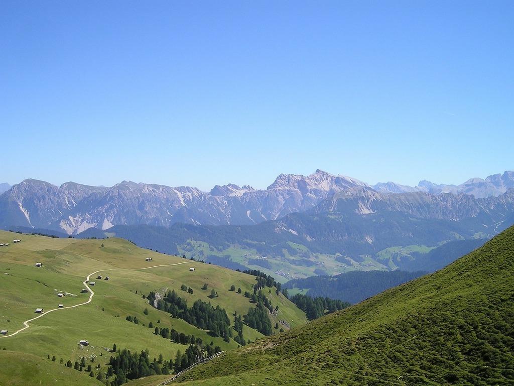 South tyrol dolomites view.