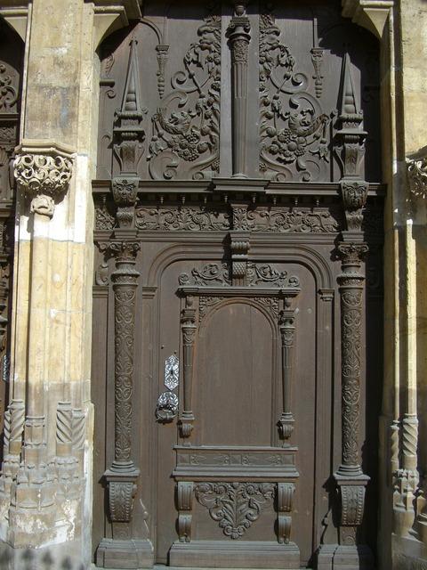 Southwest portal archway door, architecture buildings.
