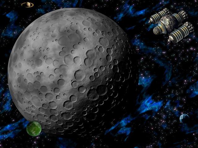 Space alien planet.