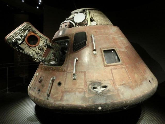 Space capsule apollo program lander, science technology.