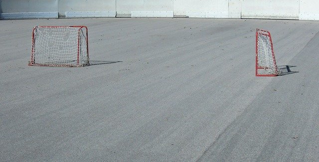 Space gates hockey, sports.
