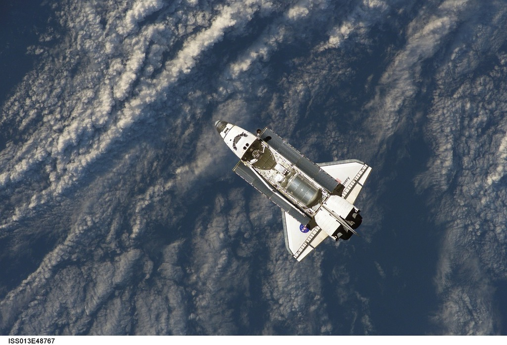 Space shuttle start spaceport, science technology.