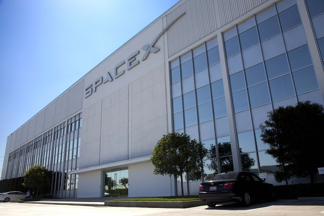 Spacex headquarters usa, architecture buildings.