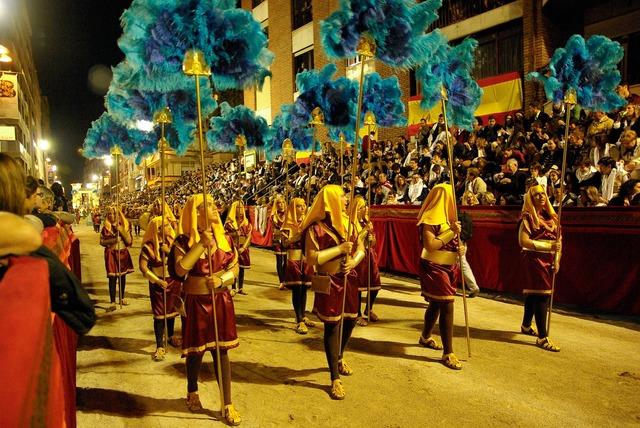 Spain lorca holy week.
