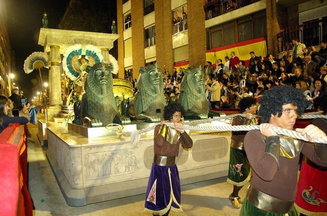 Spain lorca parade.