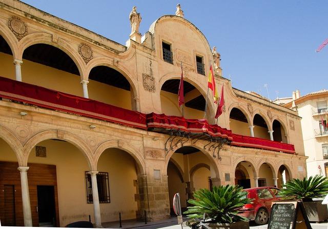 Spain lorca town hall, architecture buildings.
