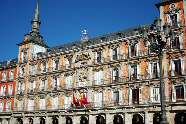 Spain madrid plaza mayor.