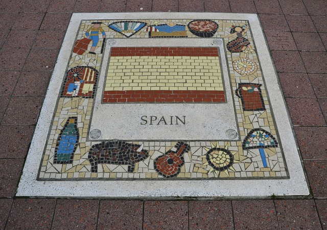 Spain rugby team emblem, sports.