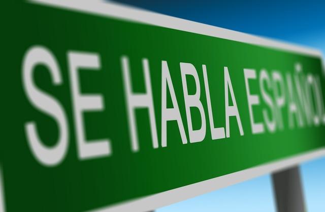 Spanish learn speech, education.