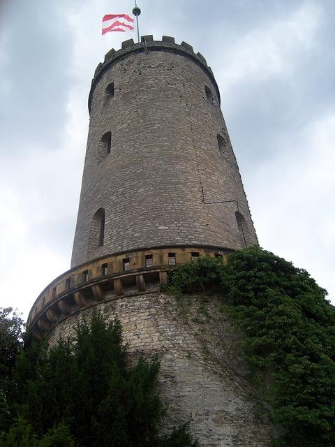 Sparrenburg bielefeld castle, architecture buildings.