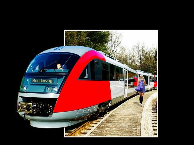 Special train freestyle train.