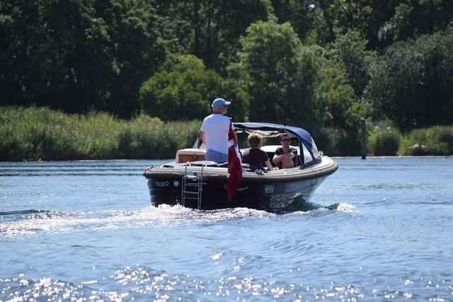 Speedboat gita sea.
