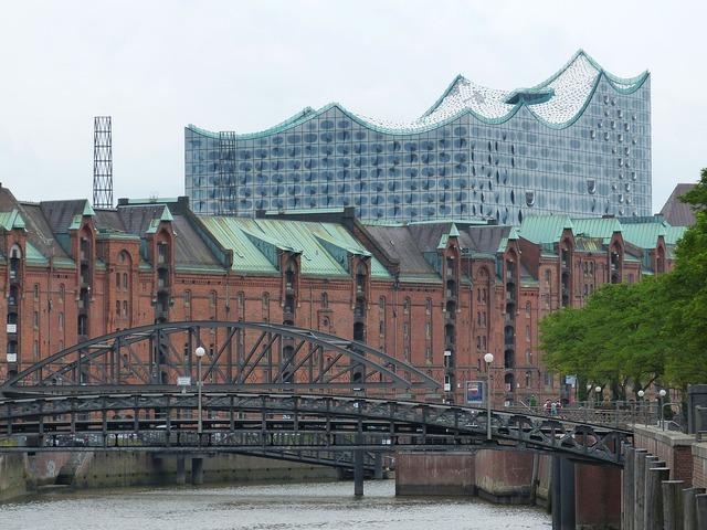 Speicherstadt hamburg brick, architecture buildings.