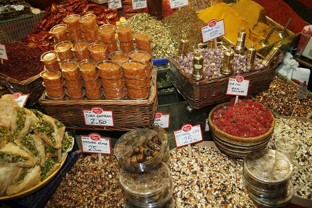 Spices market istanbul.