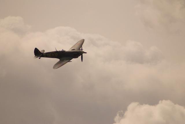 Spitfire airplane aircraft.