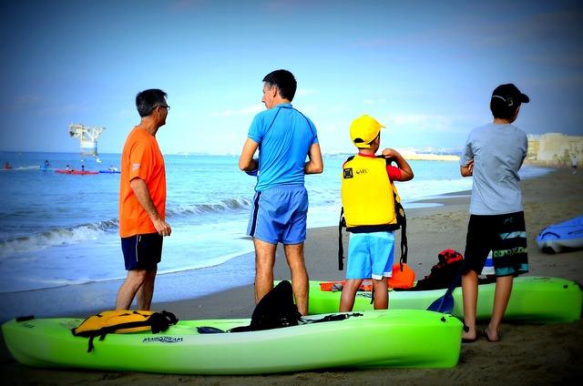 Sport sea kayak, sports.