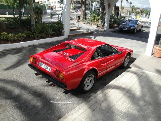 Sports car ferrari luxury.