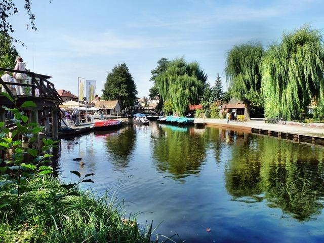 Spreewald lübbenau river.