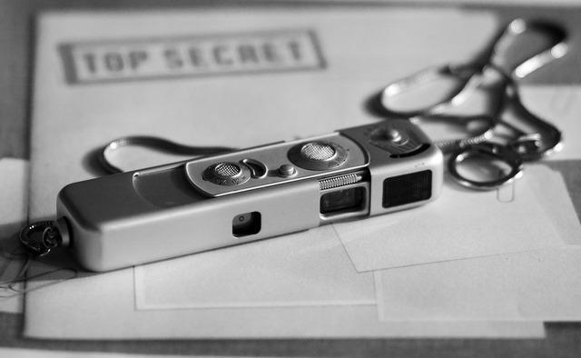 Spy camera spy secret.