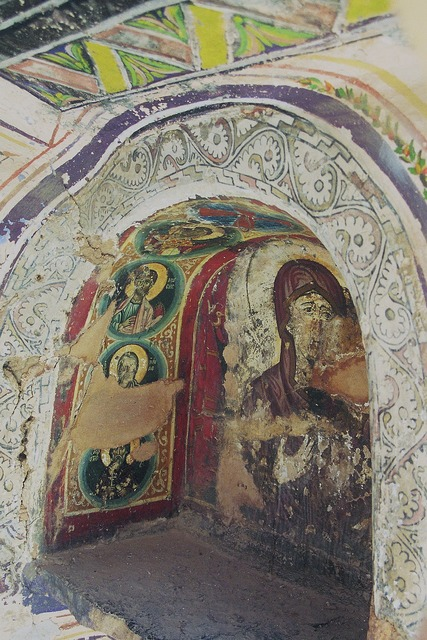 St catherine's monastery sinai fresco.
