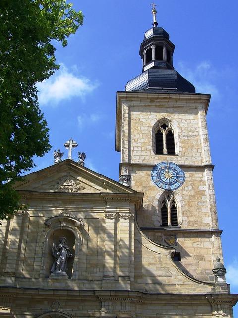 St jacob's church bamberg mainfranken.