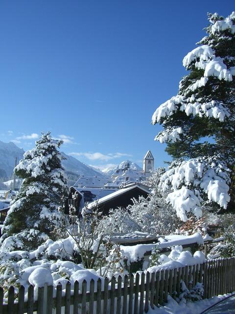 St mang tower füssen winter.
