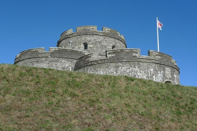 St mawes castle castle fort.