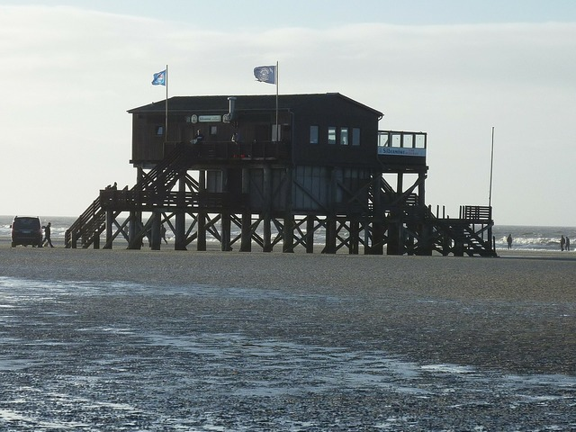 St peter obi watts wadden sea, architecture buildings.