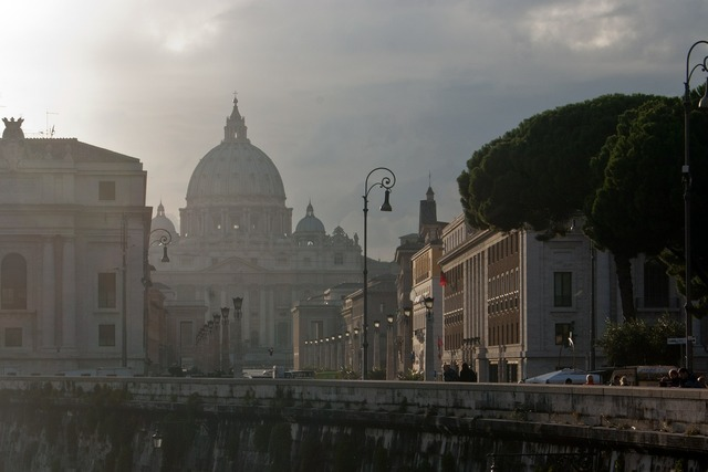 St peters vatican afternoon, architecture buildings.