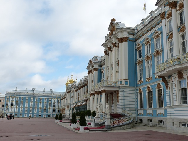 St petersburg russia historically, architecture buildings.
