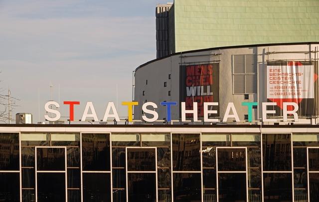 Staatstheater kassel kassel theater, architecture buildings.