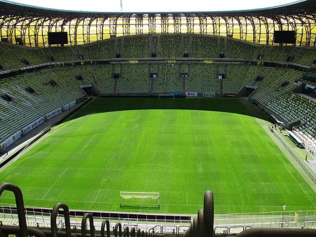Stadion the pitch match, sports.