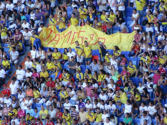 Stadium public colombian, sports.