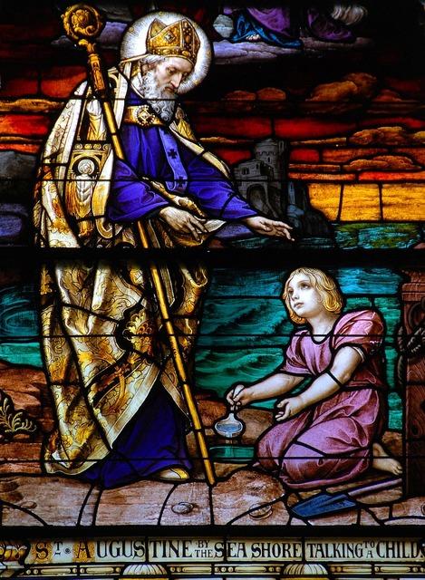Stain glass window church, religion.