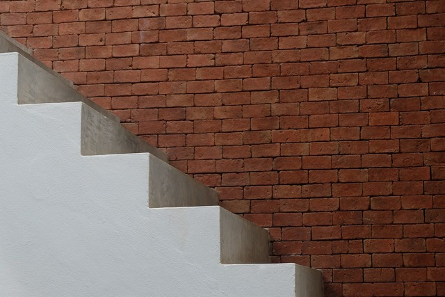 Stair wall white, architecture buildings.