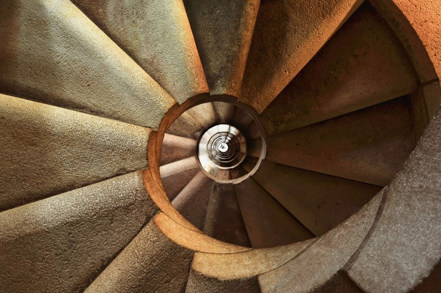 Staircase spiral architecture, architecture buildings.