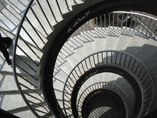 Stairs spiral architecture, architecture buildings.