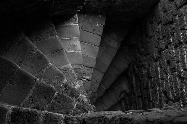 Stairs stone away, architecture buildings.