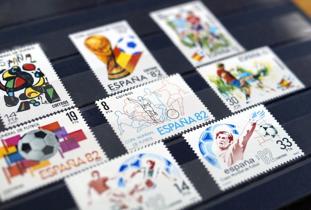 Stamps collection philately, sports.