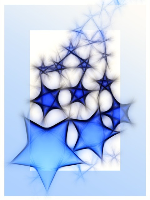 Star christmas blue, backgrounds textures.